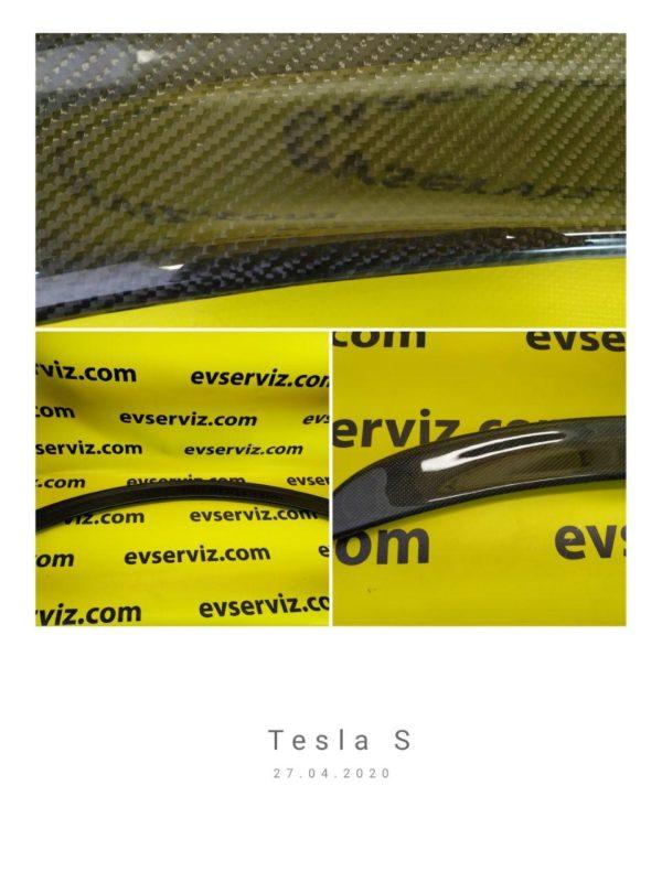 Карбоновый спойлер для Tesla Model S (2012-2020)
