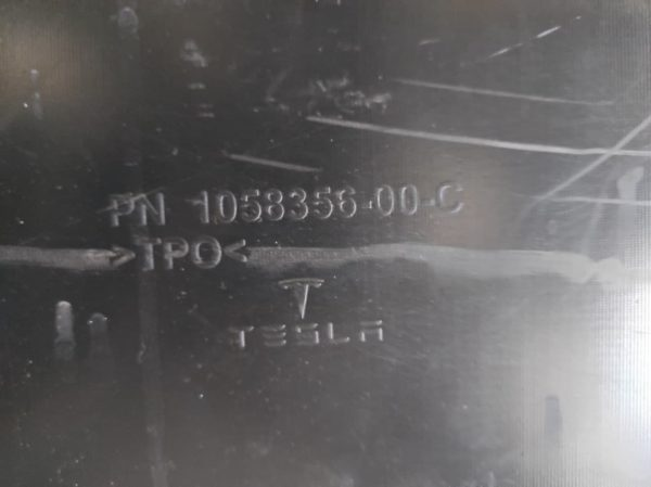 Диффузор нижний заднего бампера Tesla Model X