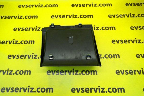 Накладка верхняя ниши для хранения под монитором {MX_MSR} для Tesla Model S\X