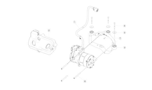 Компрессор кондиционера для Tesla Model X