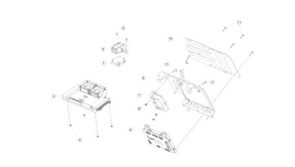 Модуль HOMELINK, OPTION-2 REST (NEW) Tesla Model S