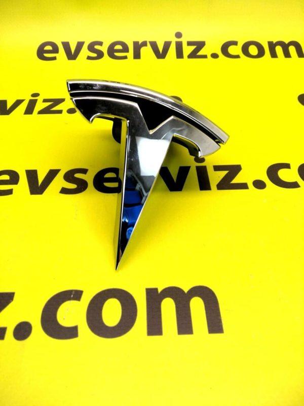"""Знак """"Т"""" переднего бампера REST (NEW) Tesla Model S"""