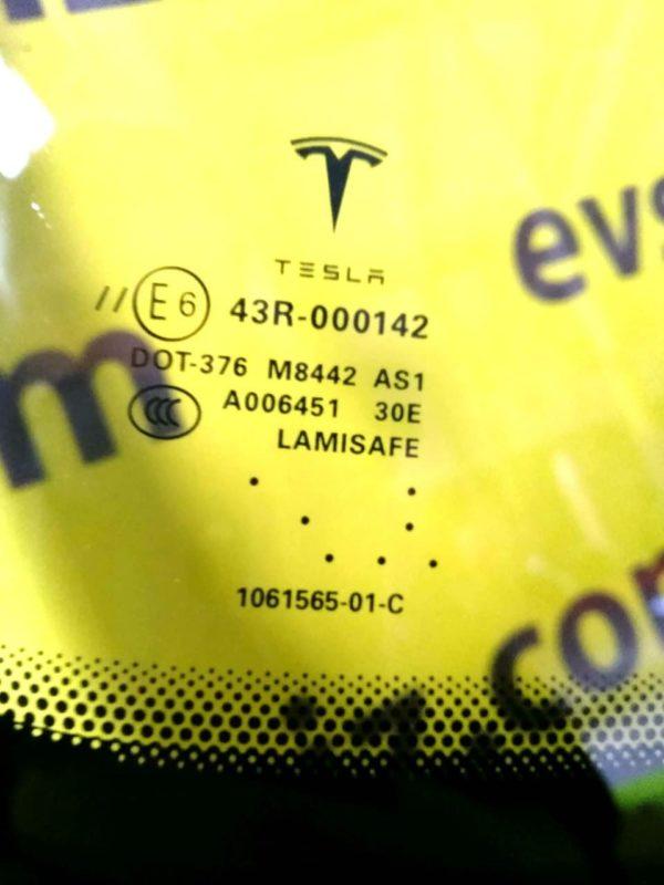 Лобовое стекло 1 автопилот (NEW) Tesla Model S