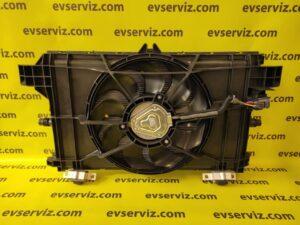 Фан-модуль системы охлаждения в сборе Tesla model Y