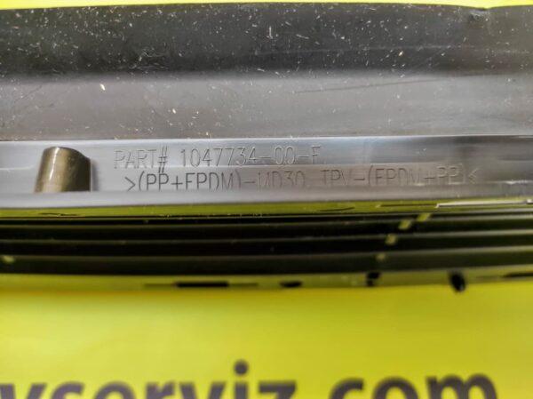 Решетка нижняя переднего бампера Tesla Model X